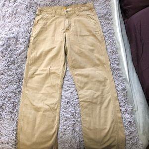 Men's Khaki Carhart Pants